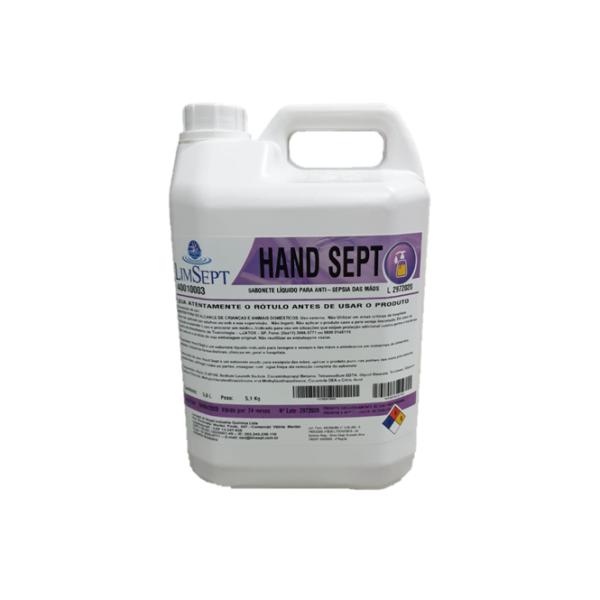 Hand Sept Sabonete Antisséptico Limsept - 5L
