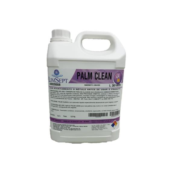 Palm Clean Sabão Líquido sem Perfume - 5L