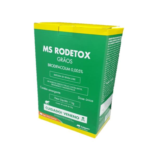 MS Rodetox - Grãos 1 Kg