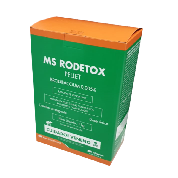 MS Rodetox - Pellet 1 Kg