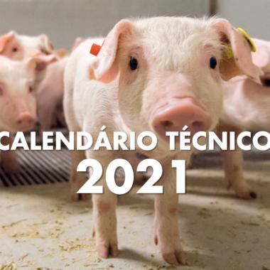 Calendário Técnico Suínos 2021
