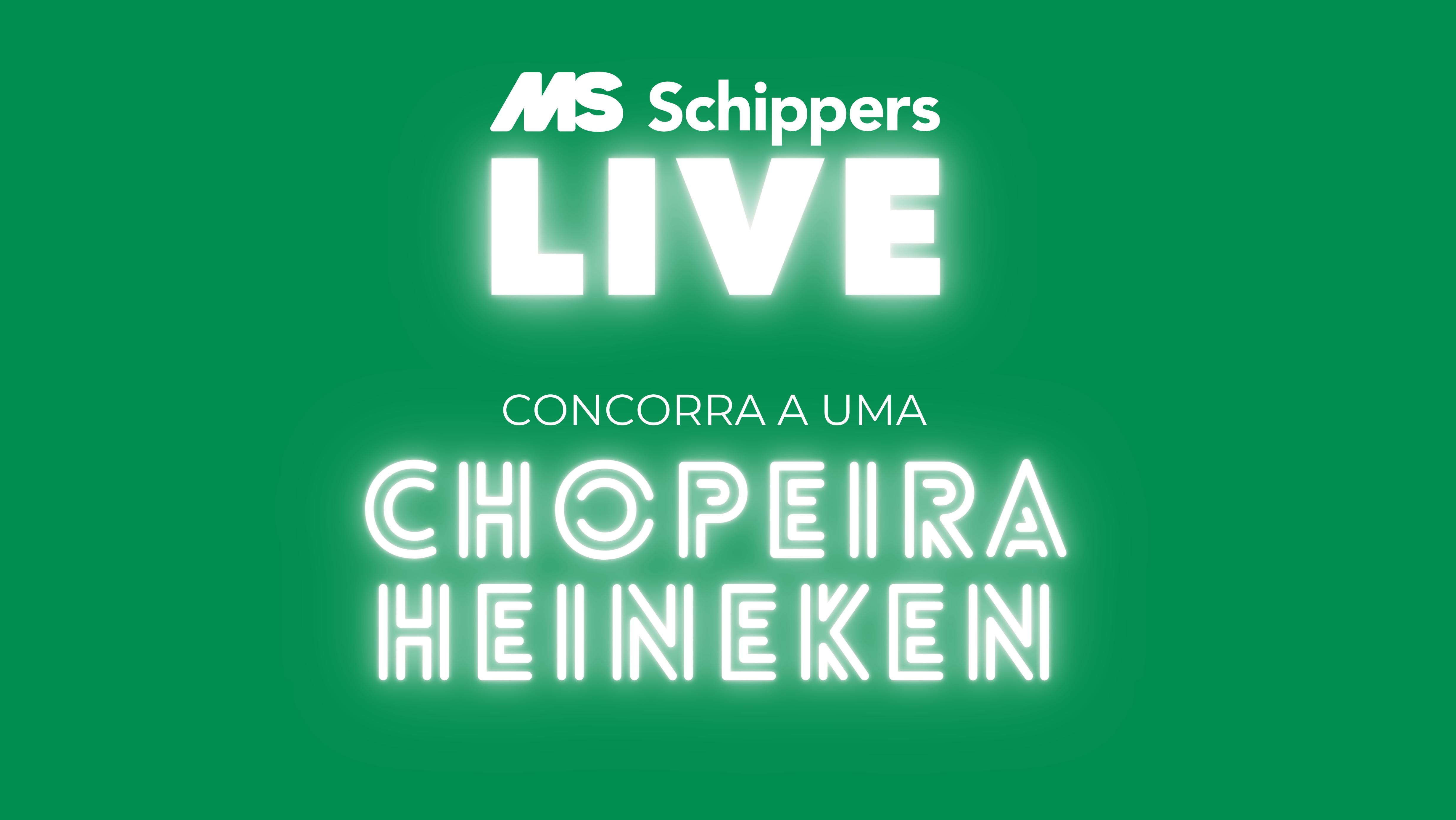 LIVE com sorteio de 01 CHOPEIRA Heineken? Sim!